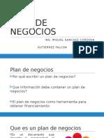 Plan de Negocios Clase 3