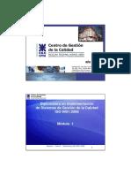 Clase 2 Curso de Diplomatura ISO 9001 Presencial Impcolor