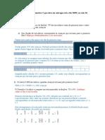 Lista de Exercício Matemática II