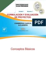 Semana 1-1 - Formulacion y Evaluacion de Proyectos- Nociones Basicas