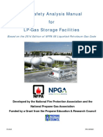 Fire Safety Analysis Manual for LP-Gas Storage Facilities