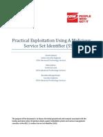 Practical Exploitation Using a Malicious Service Set Identifier (SSID)