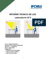 Informe Técnico de Luz