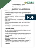 Deficiones para Instrumentacion Industrial