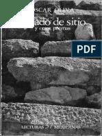 Estado de Sitio - Óscar Oliva
