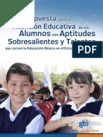 Propuesta Para La Atención de Alumnos As