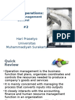 Managing Operations -Mat Managemen