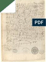 Carta de Vasco da Gama - 1502
