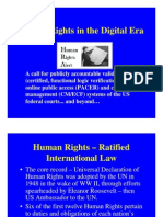 10-05-18 REVISED DRAFT Powerpoint Presentation - Pending United Nations Universal Periodic Review (UPR) of Human Rights in the US - and computer systems of the US federal courts - PACER and CM/ECF