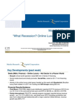 """Web 2.0 Weekly - May 18, 2010 """"What recession? Online luxury heats up"""""""