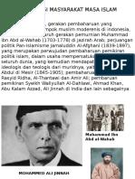 Organisasi Masyarakat Masa Islam