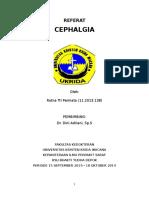 Cephalgia