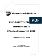 MNRR Employee Timetable No 4 GO 414 2010-06-21