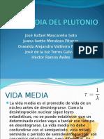 Vida Media Del Plutonio