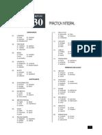 Práctica Integral de Razonamiento Verbal 30