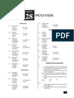 Práctica Integral de Razonamiento Verbal 28