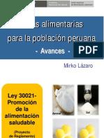 1.2 Guías Alimentarias Para La Población Peruana