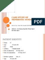Presentation of Nephrotic Syndrome ICKA