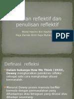 PPT amalan reflektif dan penulisan reflektif