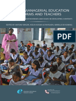Global Managerial Education Reforms and Teachers