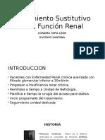 tratamiento sustitutivo de la funcion renal