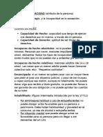 Resumen Derecho Civil 1