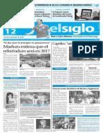 Edicion Impresa El Siglo 12-06-2016