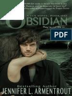 Saga Lux 01 - Obsidian