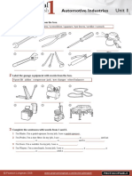 Te Automotive Worksheets
