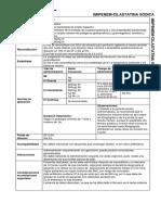 Parenteral Imipenem Cilastatina Sodica