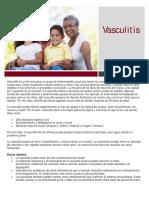 Vasculitis Spanish