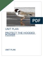 hooded plover grade 6 unit plan