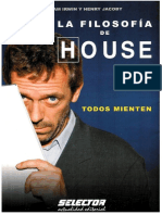William Irwin y Henry Jacoby La Filosofia de House
