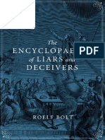 The Encyclopaedia of Liars and Deceivers Roelf Bol