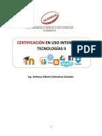 Texto de Certificación Con Uso Intensivo de Tecnologías II . ,.