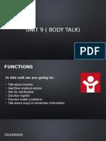 Unit 9 ( Body Talk)