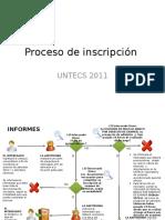 ejemplo de proceso de admision