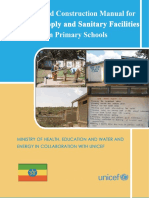 WASH in Schools Design Manual