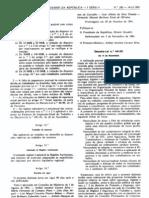 Saude e Higiene - Legislacao Portuguesa - 1991/11 - DL nº 441 - QUALI.PT