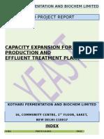 Expansion of a unit