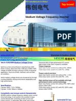 List of Medium Voltage Inverters for Industrial Control