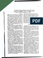 Discurso de Toma de Protesta del General Lázaro Cárdenas