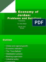 The Economy of Jordan