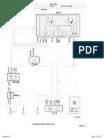 Esquema de La Dirección Eléctrica Del Peugeot 208 Año 2015