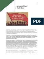 Langevin, Paul - Materialismo Mecanicista y Materialismo Dialéctico