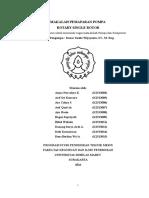 Pompa Rotary Single Rotor