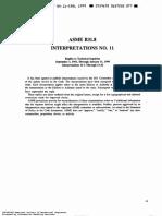 Asme b31.8 Interpretations