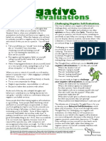 Info Negative Self Evaluations
