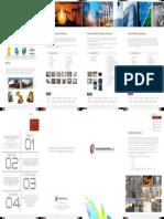 Rakchem 4 Fold Brochure Online Marketing Purpose