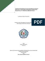 Laporan Kerja praktik sistem informasi penerimaan penimbunan dan penyaluran bbm